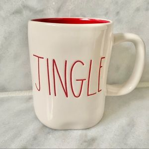 NEW Rae Dunn Jingle Christmas Ceramic Mug